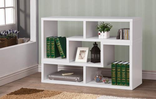 Olivia Bookshelf White