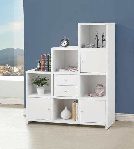 Neil Bookshelf White