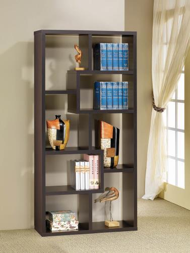 Kane Bookshelf Cappuccino