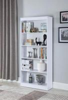 Nate Medium Bookshelf White
