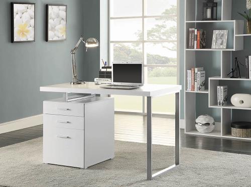 Carter Desk White