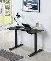 Ronan Power Adjustable Desk Black