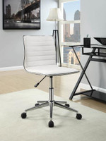 Zachary Swivel Office Chair White