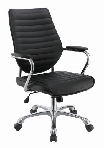 Ian Swivel Office Chair Black