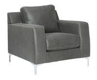 Elzie Chair Dark Grey