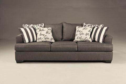 Devon Queen Sofa bed Grey