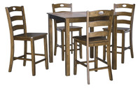 Hazelteen 5 Piece Counter Height Dining Set