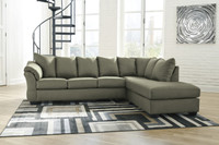 Madison Right Hand Facing Sectional Sage