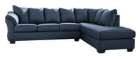 Madison Right Hand Facing Sectional Blue