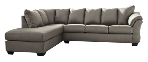 Madison Left Hand Facing Sectional Grey