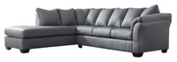 Madison Left Hand Facing Sectional Steel