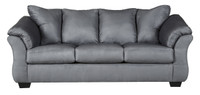 Madison Fabric Sofa Steel