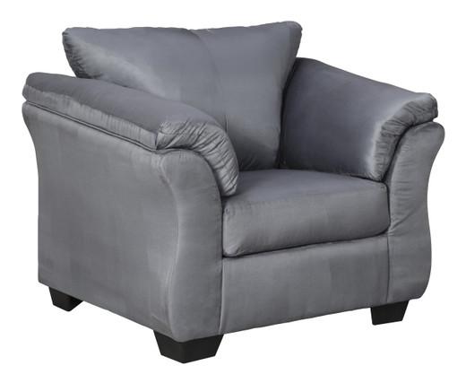 Madison Fabric Chair Steel