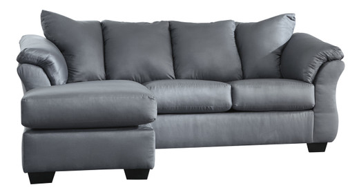 Madison Fabric Reversible Sectional Steel