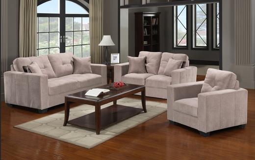 Piper Fabric Sofa Grey