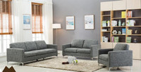 Parker Loveseat Grey