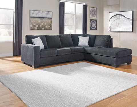 Wren Right  Hand Facing Sectional Sofa Bed Grey