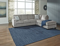 Wren Right  Hand Facing Sectional Silver Grey