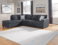 Wren Left Hand Facing Sectional Grey