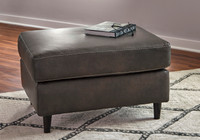 Carter Genuine Leather Ottoman