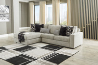 Chloe Left Hand Facing Sectional Grey