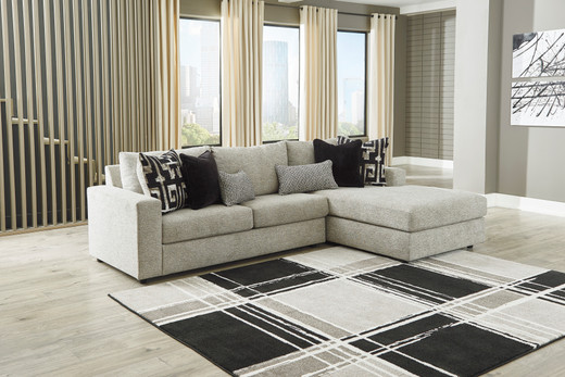 Chloe Right Hand Facing Sectional Grey