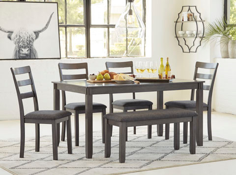 Brent 6 pc Dining Set