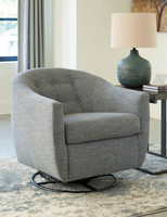 Owen Swivel Chair Slate Grey