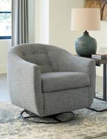 Owen Swivel Chair Slate Grey