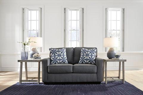 Ezra Love seat Grey