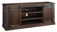Budmore TV Stand Rustic Brown - Extra Large