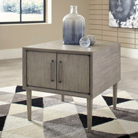 Enzo Side Table Grey