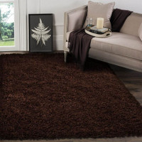 Shaggy Rug Brown