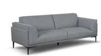 Mila Fabric Sofa Grey
