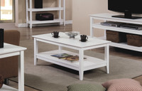 Quadra Coffee Table White