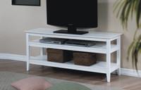Quadra TV Stand White