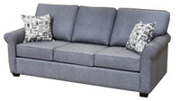 Sonic Fabric  Queen Sofa Bed Grey
