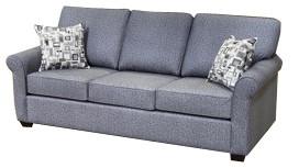 Sonic Fabric  Queen Sofa Bed Grey