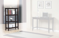 Quadra Bookshelf Espresso