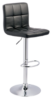 Bella Swivel Bar Stool Black