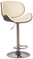 Gerda Swivel Bar Stool Bone