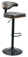 Mark Swivel Bar Stool Black