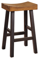Glosco Bar Stool Brown