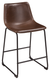 Luka Counter Stool Brown