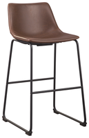 Luka Bar Stool Brown