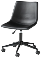 Keaton Swivel Office Chair Black
