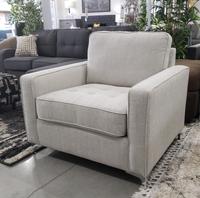 Sophie Fabric Chair Platinum