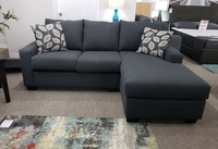 Easton Fabric Right Facing Sectional