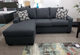 Easton Fabric Left Facing Sectional