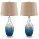 Johanna Glass Table Lamp Set